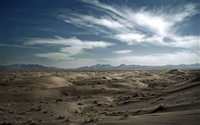 Dasht-e Kavir, desert, Iran HD wallpaper