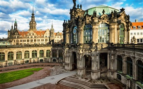 Dresden, Altstadt, Germany, city, buildings HD wallpaper