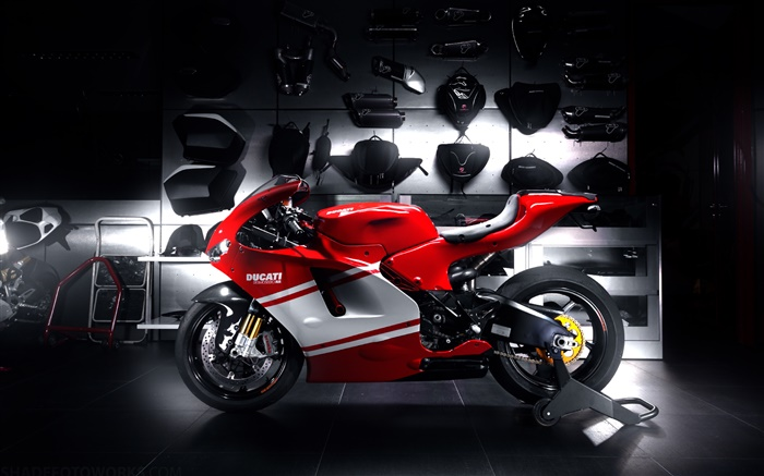 Ducati red motorcycle Wallpapers Pictures Photos Images