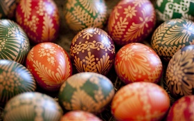 Holiday, eggs, spring, Easter HD wallpaper