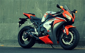 Honda CBR 1000 motorcycle HD wallpaper
