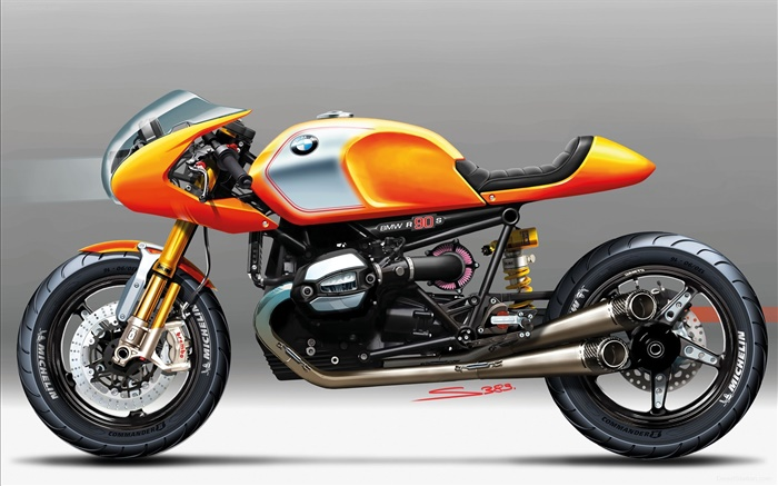 BMW concept motorbike Wallpapers Pictures Photos Images
