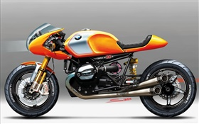 BMW concept motorbike HD wallpaper
