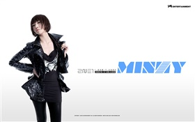 2NE1, Korean music girls 15 HD wallpaper