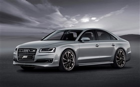 Audi ABT AS4 sedan HD wallpaper