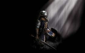 Dark Soul 2, black background HD wallpaper
