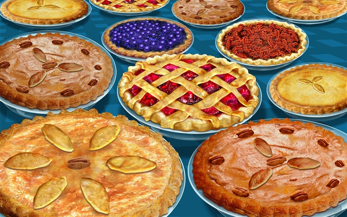 Many varieties of pizza Wallpapers Pictures Photos Images