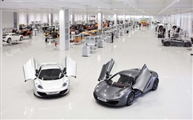 McLaren MP4-12C supercars, factory HD wallpaper