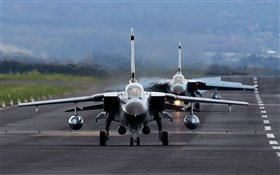 Panavia Tornado fighter, bomber, airport HD wallpaper
