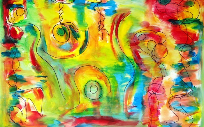 Abstraction shape, colorful colors Wallpapers Pictures Photos Images