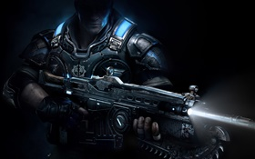 Gears of War 4, soldier HD wallpaper