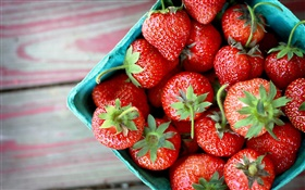 Tasty strawberry, fresh fruits