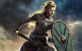 Vikings, Katheryn Winnick HD wallpaper