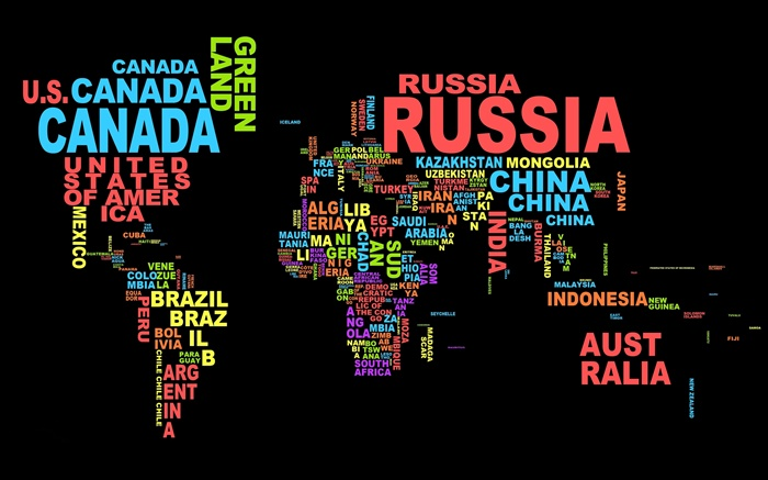 World map countries text creative design hd wallpapers world map countries text creative design wallpapers pictures photos images gumiabroncs Image collections