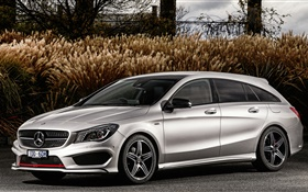 2015 Mercedes-Benz CLA 250 car side view