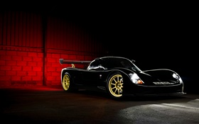 2015 Ultima Evolution Coupe, black sport car