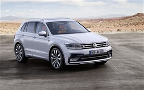 2015 Volkswagen Tiguan SUV car HD wallpaper