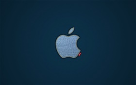 Apple fabric texture HD wallpaper