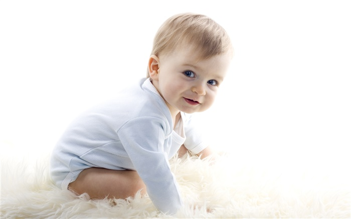 Cute baby, newborn, sweet smile Wallpapers Pictures Photos Images