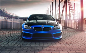 Hamann BMW F13 Coupe, blue car front view HD wallpaper