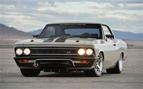 1966 Chevrolet Chevelle car front view