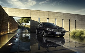 2015 BMW 750Li xDrive G12 car front view HD wallpaper