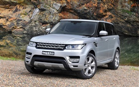 2015 Land Rover Range Rover AU-spec, silver SUV car HD wallpaper