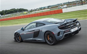 2015 McLaren 675LT US-spec supercar speed HD wallpaper