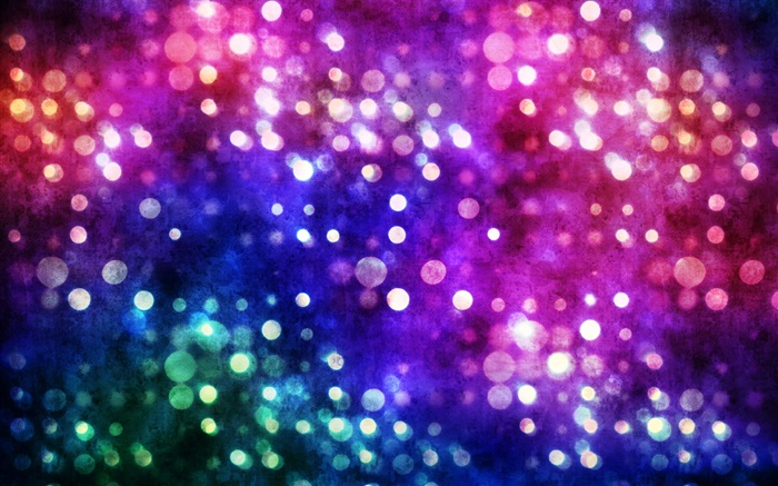 Abstract, circles, colorful dots, colors, bokeh Wallpapers Pictures Photos Images