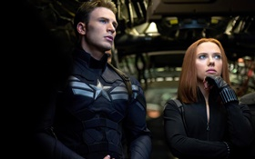 Captain America: The First Avenger, Black Widow HD wallpaper