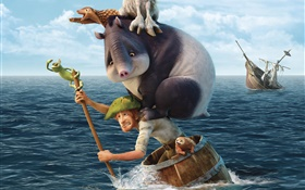 Robinson Crusoe 2016 HD wallpaper