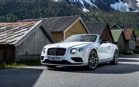 2015 Bentley Continental GT V8 convertible car HD wallpaper