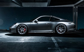 2015 Porsche 911 Carrera 4 supercar side view HD wallpaper