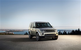 Land Rover, Discovery, car, front