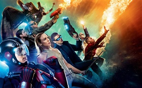 Legends of Tomorrow, TV series HD wallpaper