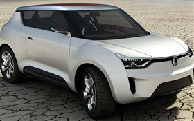 SsangYong XIV-2 concept car HD wallpaper