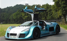 Apollo supercar wings HD wallpaper