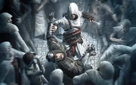 Assassin's Creed, game widescreen HD wallpaper