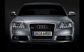 Audi car front view HD wallpaper