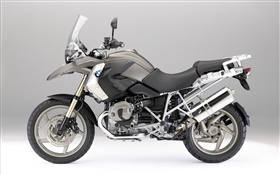 BMW R1200 GS black motorcycle HD wallpaper