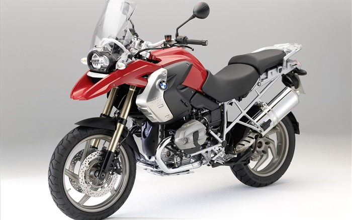 BMW R1200 GS motorcycle front right view Wallpapers Pictures Photos Images