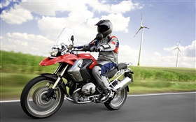 BMW R1200 GS motorcycle