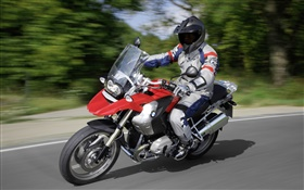 BMW motorcycle speed, R1200 GS HD wallpaper