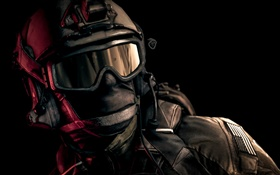 Battlefield 4, soldier, helmet, goggles HD wallpaper