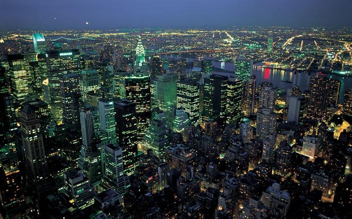 Beautiful Night City Lights Top View New York Usa Hd Wallpapers Cities Desktop Wallpaper Preview Hdwall365 Com