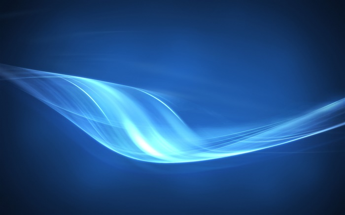 Blue light curve, abstract pictures Wallpapers Pictures Photos Images