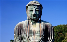 Buddha statue HD wallpaper