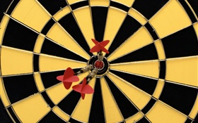 Darts and target HD wallpaper