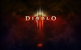 Diablo game logo HD wallpaper