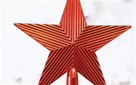 Five-pointed star, Christmas decoration HD wallpaper